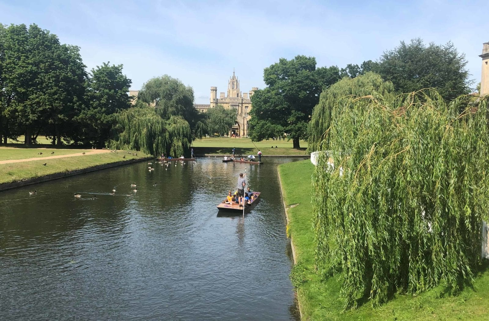 moving to Cambridge