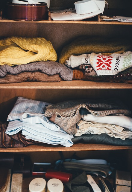 unwanted clothes clear clutter