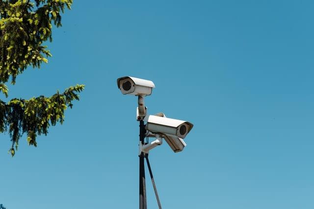 CCTV cameras at Cambridge Self Storage facility
