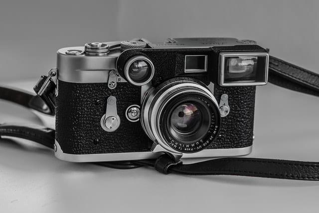 storing a vintage camera